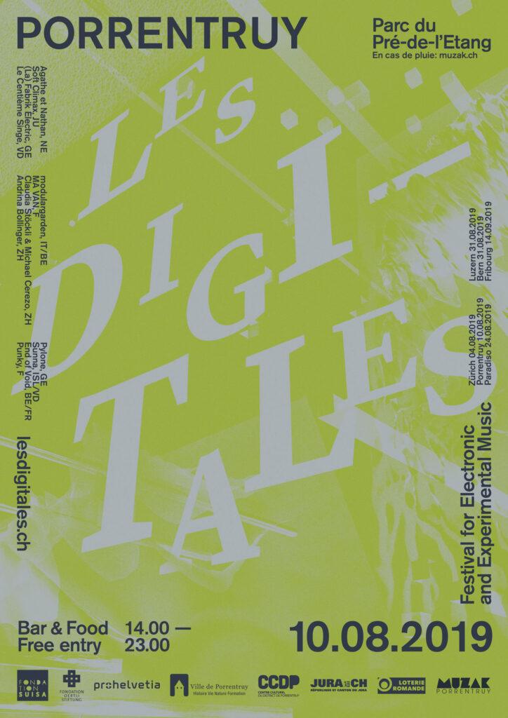 Les Digitales Festival le 10 août 2019 à la Pré-de-l'Étang